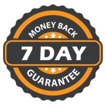 7 day money-back-guarantee